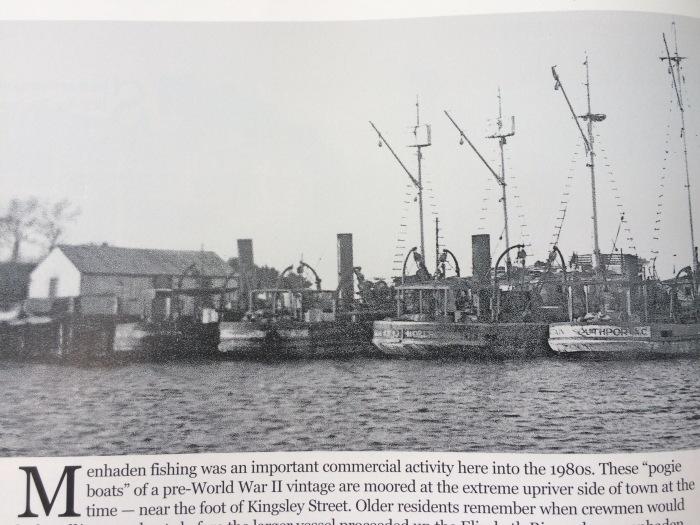 Pogey fleet at Kingsley