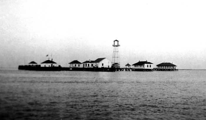 Quarantine Station on the Cape Fear River
