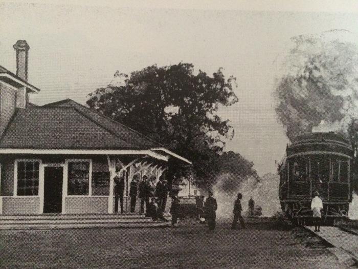 Rhett St depot